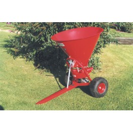 Fertilizer Spreader - 50L - 10hp - Trailed Disc with Steel Hopper