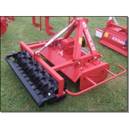 Rotary Power Harrow with Crumbler or Packer Roller - 1.10m - 16hp