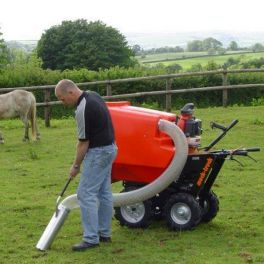 PC450H Power Vacuum Paddock Cleaner
