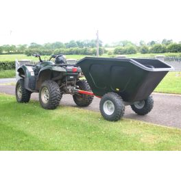 Plastic Hopper Tipping Trailer 500L