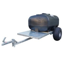 700L Site Tow Trailer Mounted Water Bowser - Single Axle