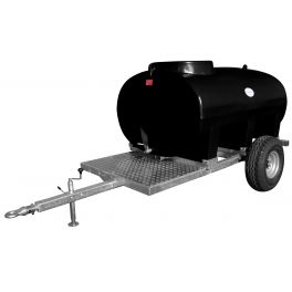 1200L Site Tow Trailer Mounted Water Bowser - Single Axle