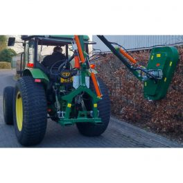 1m Rotary Hedge Trimmer with Cable Controls