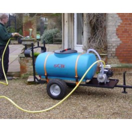 270 litre (60 gallon) garden water unit c/w petrol pump